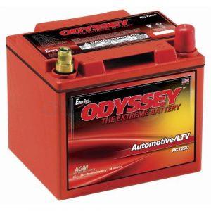 Odyssey Moottoripyörän akut